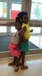 Talise and Talea.   Theo Chapman Sr. Daughters