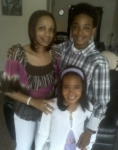Latoscha Kendrick, Teddy Mackey's daughter Darvion and Dayonna